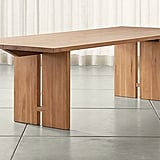 Celeste: Monarch Natural Solid Walnut Dining Table