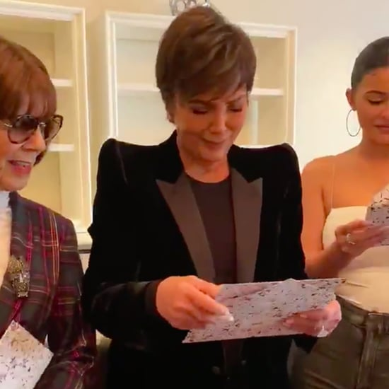 Kim Kardashian Surprises Kris Jenner For Her Birthday Video