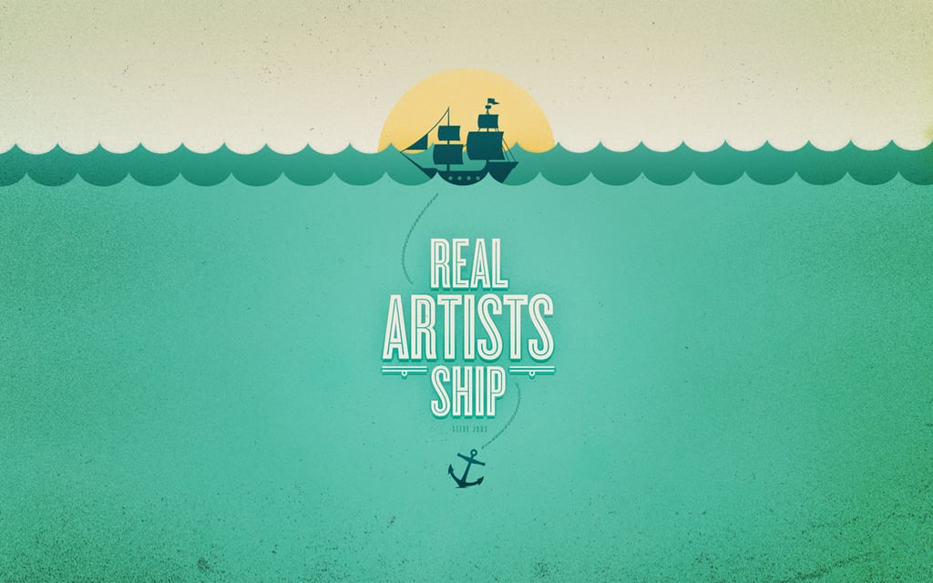 Real Artists Ship by Busy Building Things