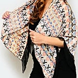Simply Chic Ikat Fringe Scarf ($19)
