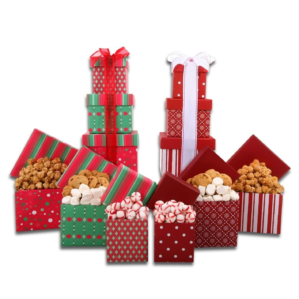 Alder Creek Gifts Set of Two Gift Towers Christmas Gift ...