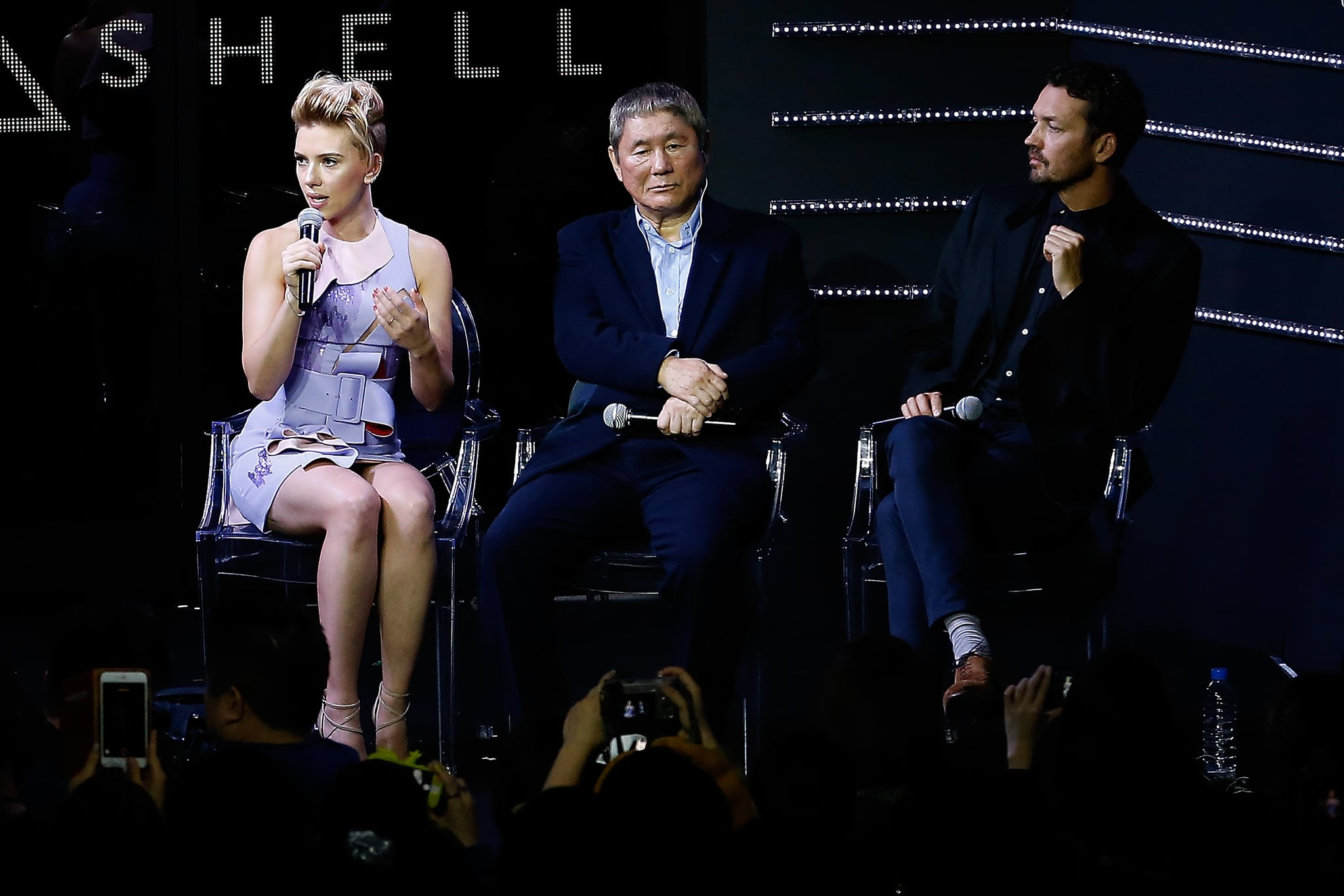 Why Was Scarlett Johansson Cast In Ghost In The Shell Popsugar Entertainment