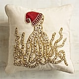 Beaded Octopus Pillow ($40)