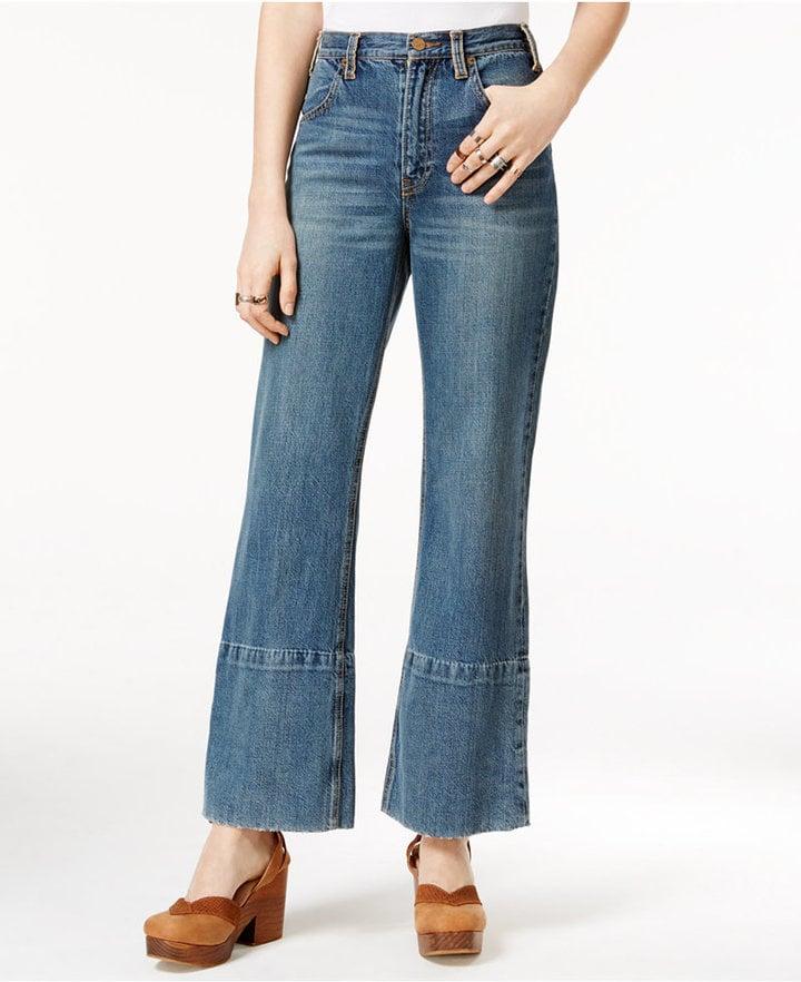 Free People 'Hopkin' Wide-Leg Jeans ($148)