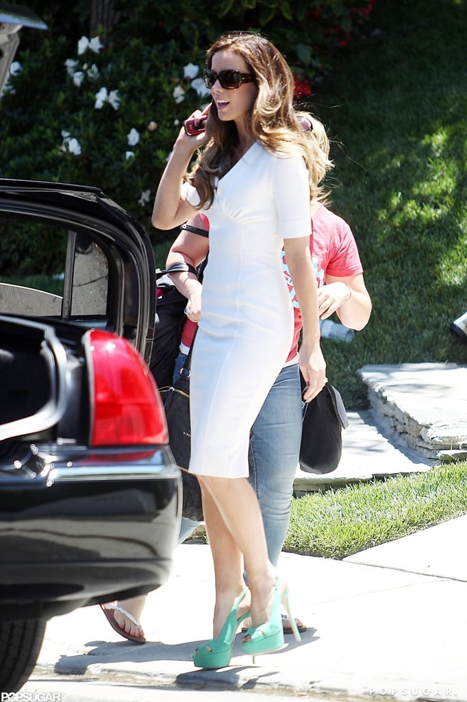 Kate Beckinsale was picked up in LA.