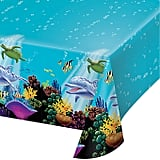 Creative Converting Ocean Party Plastic Table Cover,
