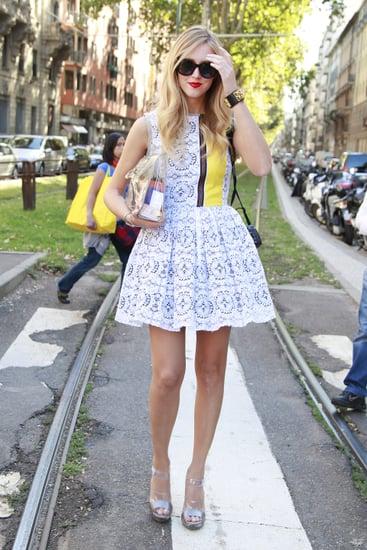 Spring 2012 Milan Fashion Week Street Style: Day 1