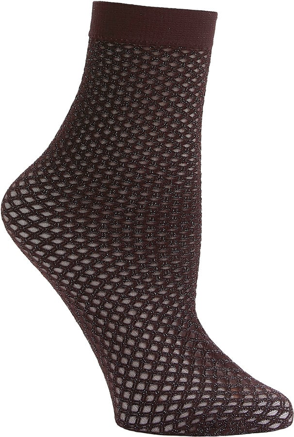 Emilio Cavallini Metallic Net Socks
