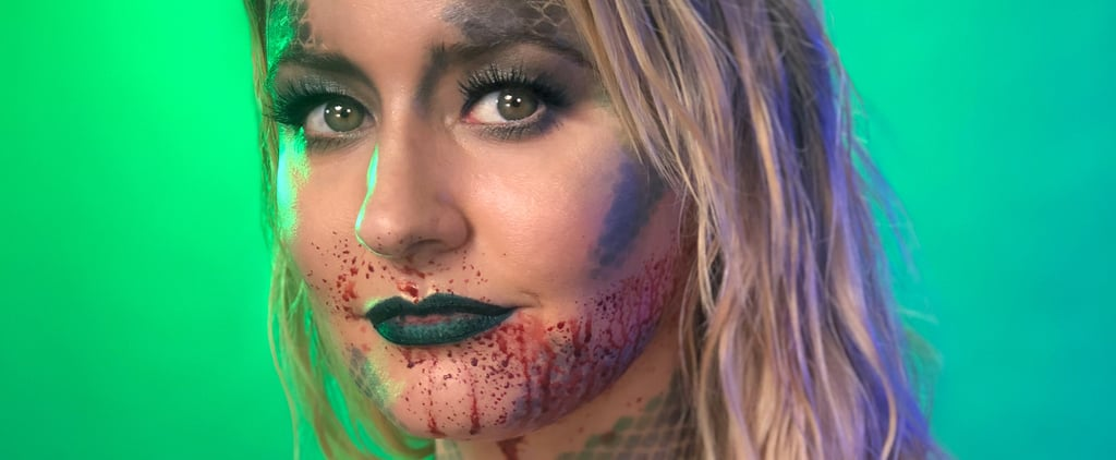 Creepy Mermaid Makeup Tutorial For Halloween