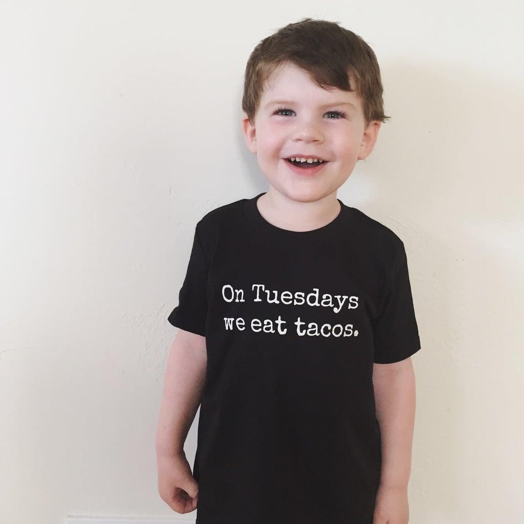 On Tuesdays We Eat Tacos Shirt
