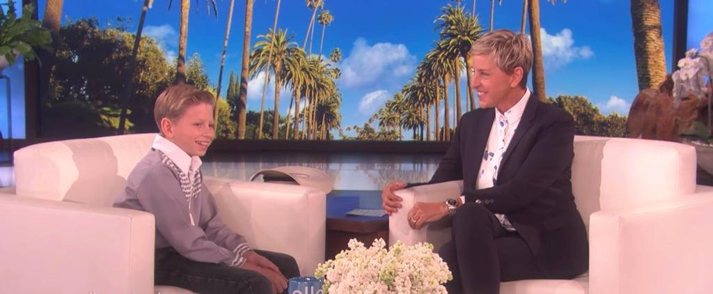Walmart Yodel Boy on Ellen DeGeneres Show