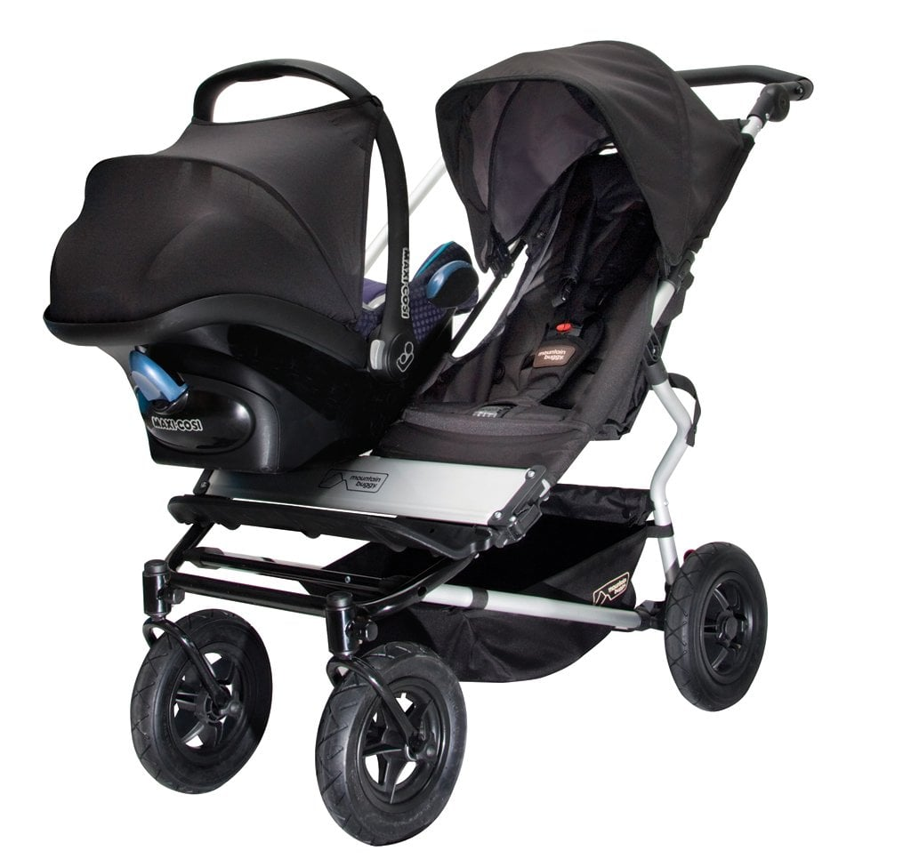 mountain buggy duet double stroller review popsugar moms. Black Bedroom Furniture Sets. Home Design Ideas