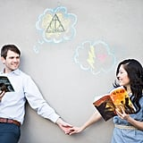 Could This Harry Potter-Themed Engagement Be Any More Magical?