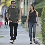 Sept. 26, 2016: They head to breakfast together in LA.