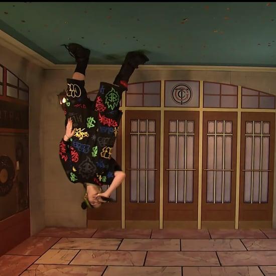 "Billie Eilish Upside Down ""Bad Guy"" Performance on SNL"