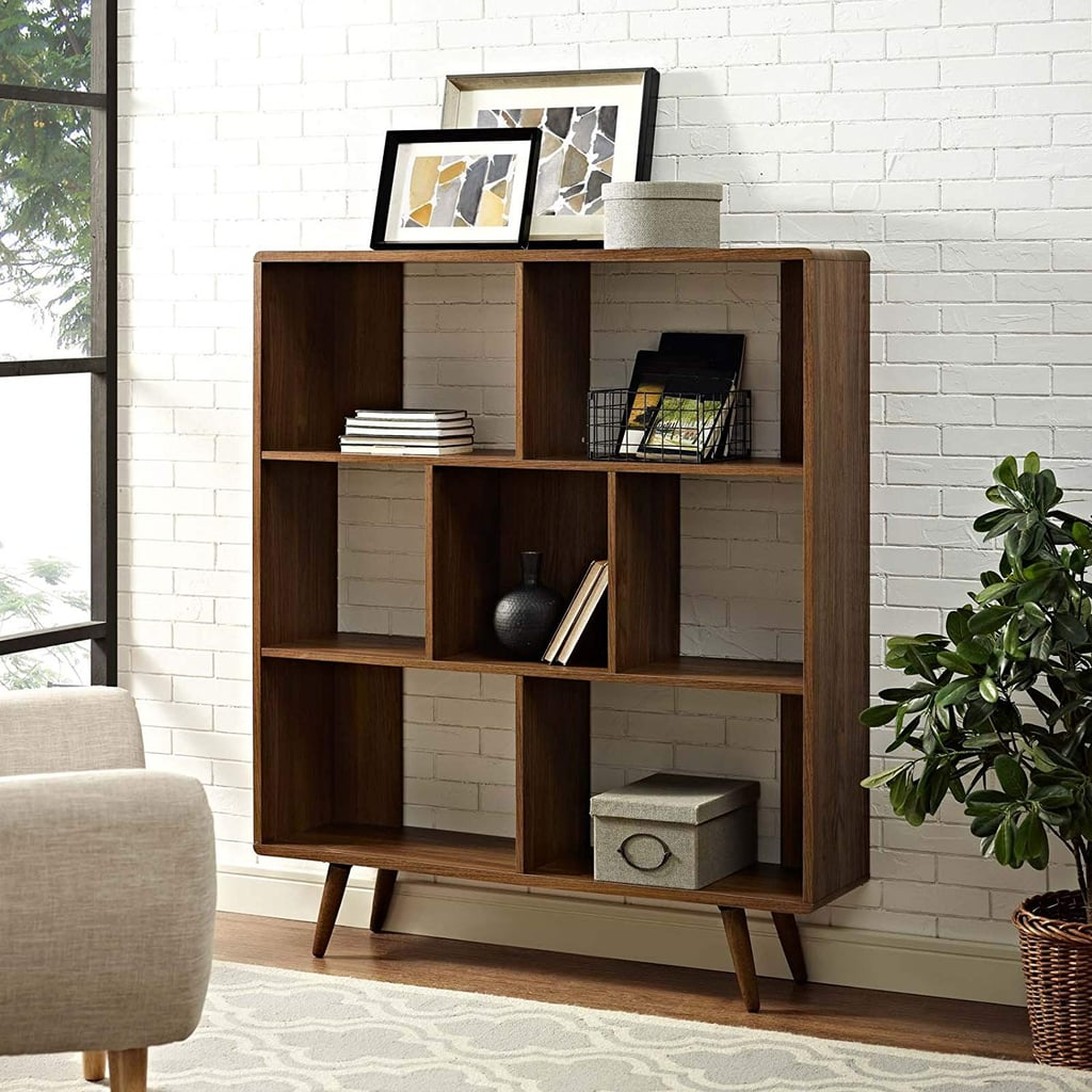 Modway Transmit Mid-Century Offset Cube Bookcase