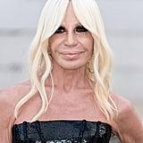 Donatella Versace at the 2018 CFDA Fashion Awards