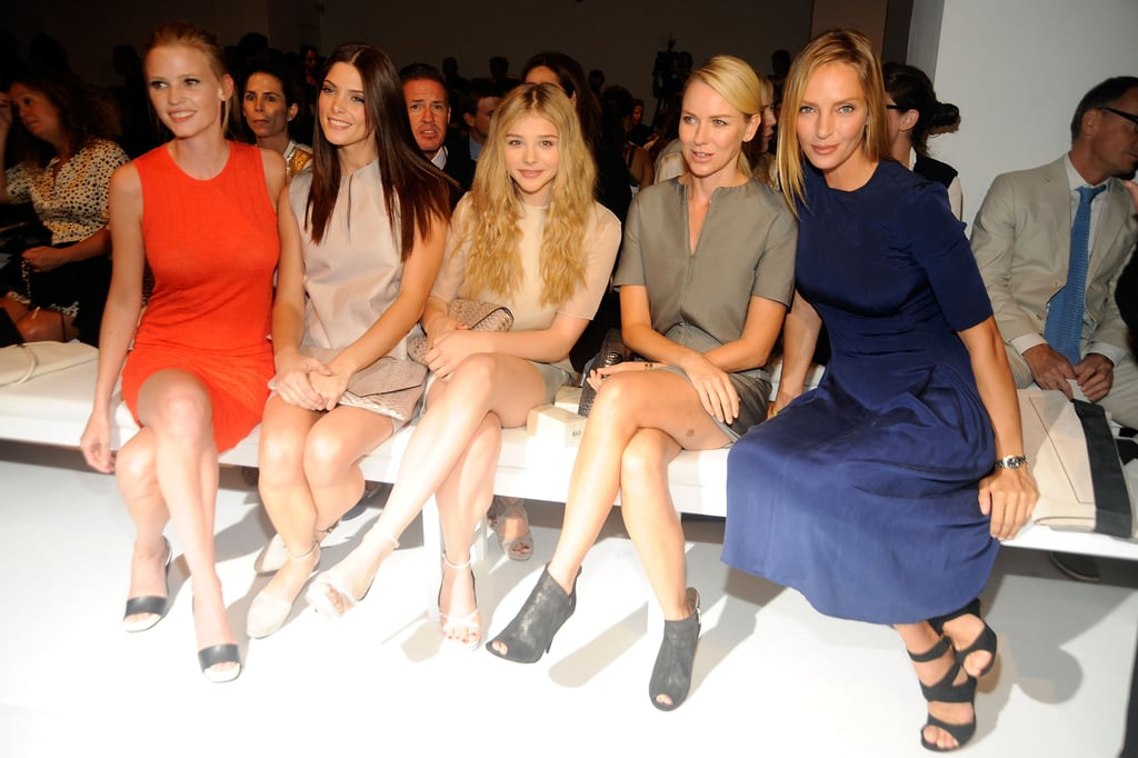 Stars Continue Their Front Row Fun at New York Fashion Week