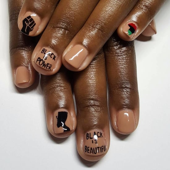 Nail Art About Social Change