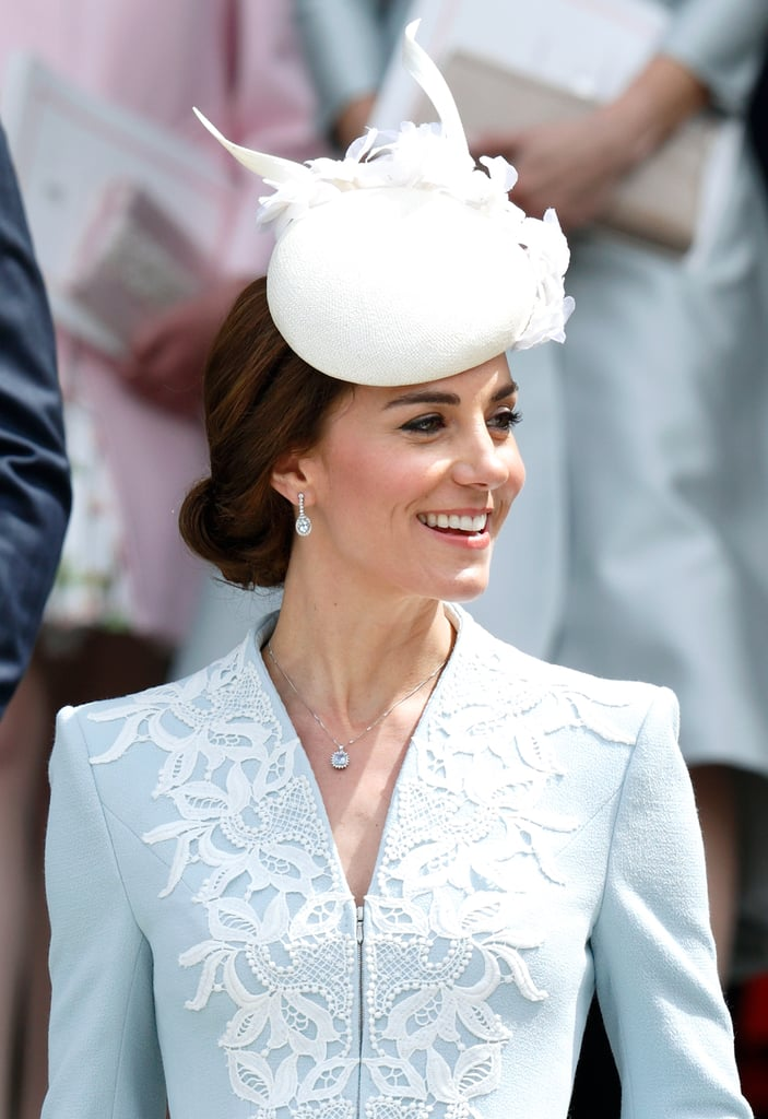 We know the sapphire engagement ring and Kiki McDonough citrine drops better than the contents of our own jewelry box, but in 2016, Kate Middleton debuted a whole host of new gems. From the $7 bargain she picked up at a trinket stall to $5,000 worth of lavender amethysts, Kate has worked a variety of different looks and price points this year. We took a look at the new additions that include a possible gift from Prince William, a high street home run, gold from the queen of Bhutan, and mementos from overseas travels.       Related:                                                                The Real History Behind Kate Middleton's Royal Jewelry                                                                   The 23 Most Stunning Pieces of Jewelry Kate Middleton Has Received From the Royal Family