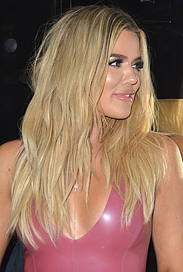 Khloe Kardashian Crimped Hair 2019