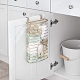 mDesign Metal Over Cabinet Kitchen Storage Organiser