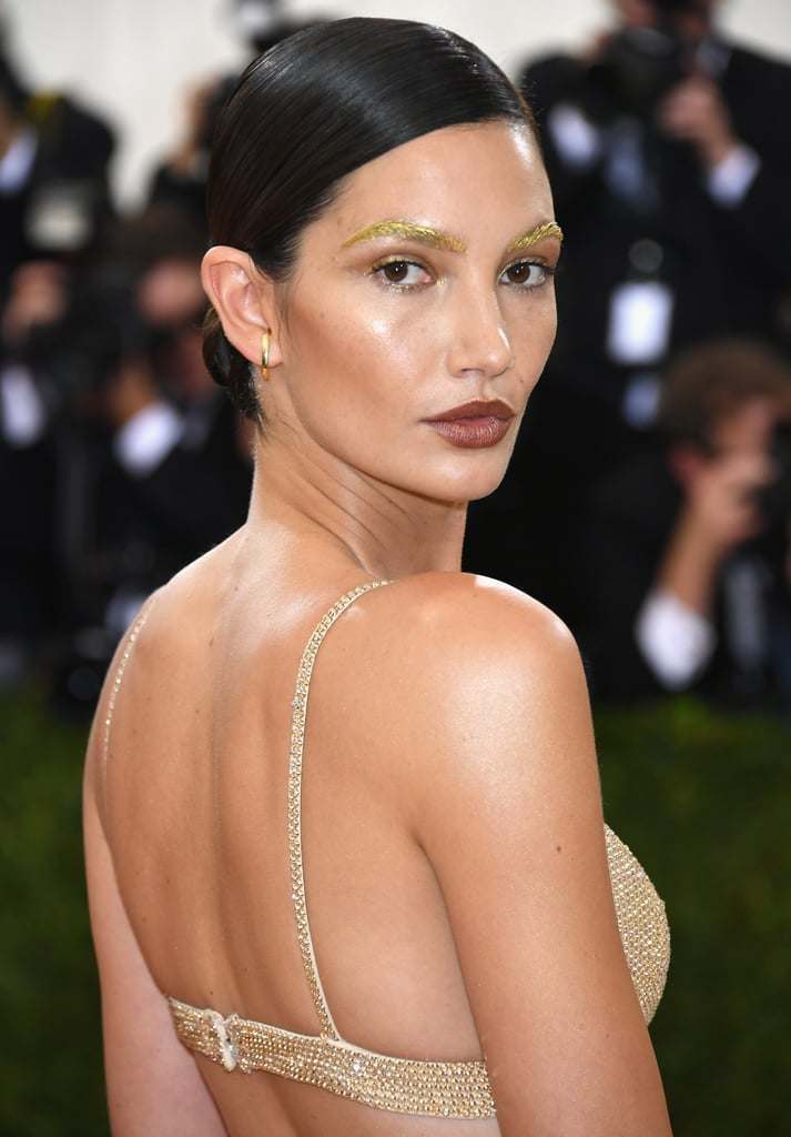 Celebrity Hair and Makeup at Met Gala 2016   POPSUGAR ... Jessica Chastain Accent