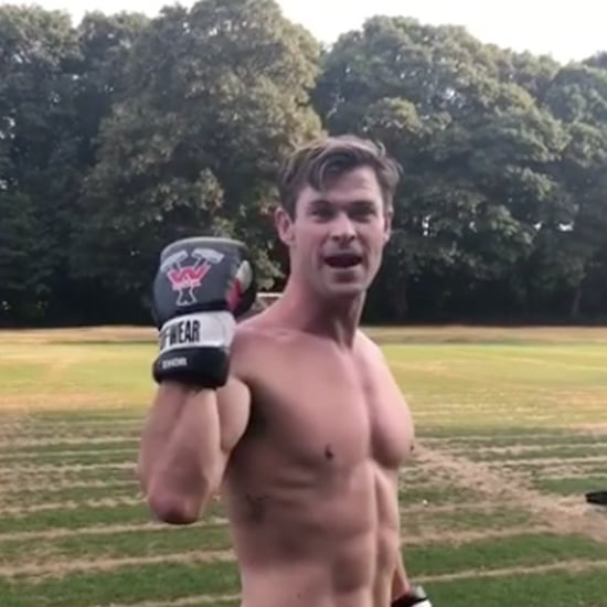 Chris Hemsworth Training For Men in Black Reboot
