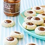 Dulce de Leche Shortbread Thumbprint Cookies