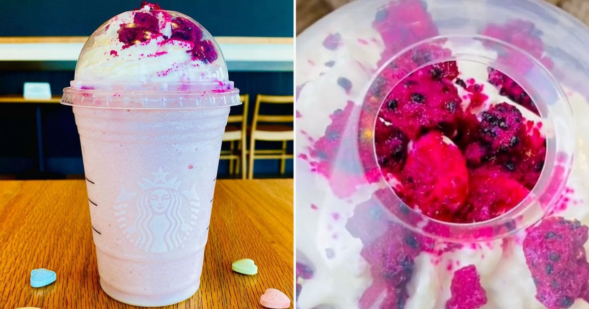 You Can Get Your BFF a Secret Galentine's Day Frappuccino at Starbucks — and It's Perfectly Pink