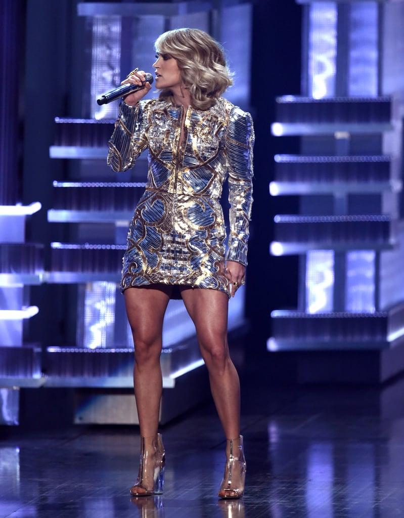 Carrie Underwoods Dress At ACM Awards 2017 POPSUGAR