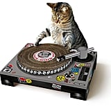 The perfect gift for the cat owner with a sense of humor, this turntable scratching post ($36) will turn your kitty into a house(cat) DJ, not to mention provide endless photo ops.