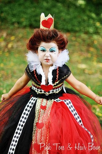 Alice In Wonderland Halloween Costume Family.Disney S Alice In Wonderland The Queen Of Hearts Tutu Dress