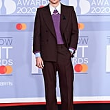 Harry Styles at the 2020 BRIT Awards Red Carpet