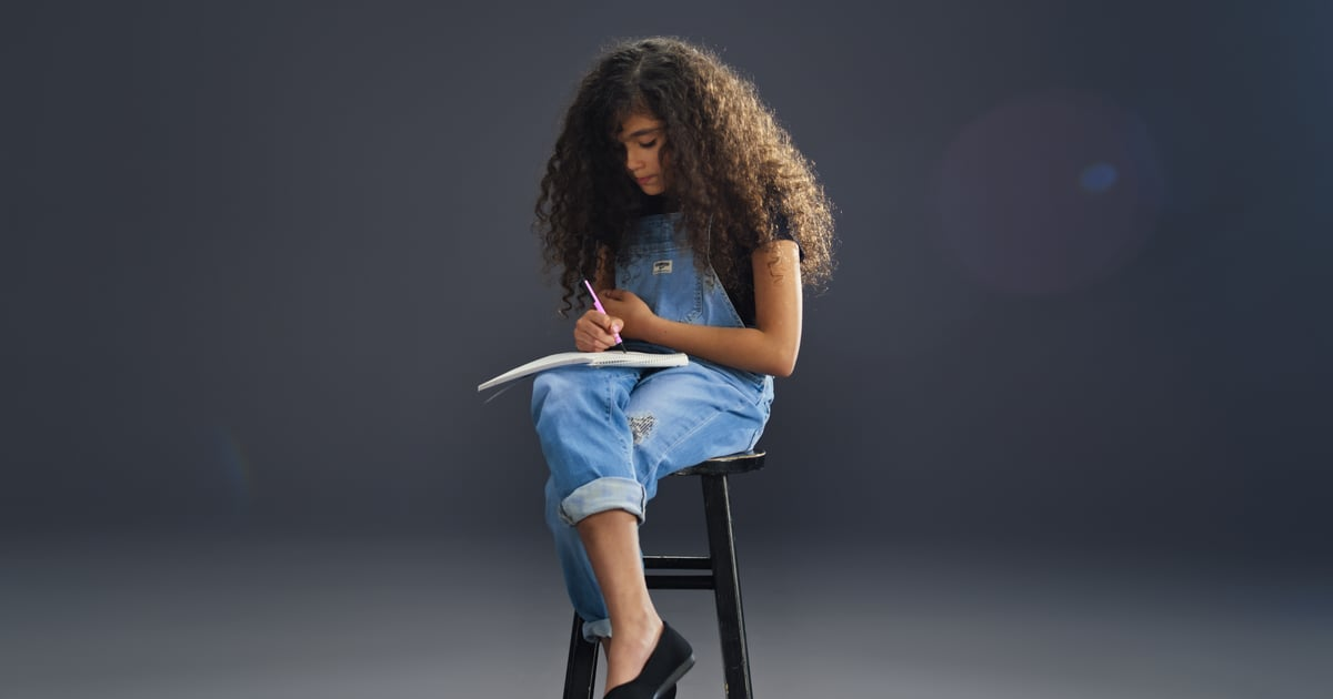 Monroe Cannon Is So Adorable Channeling Mom Mariah Carey in Back-to-School Campaign.jpg