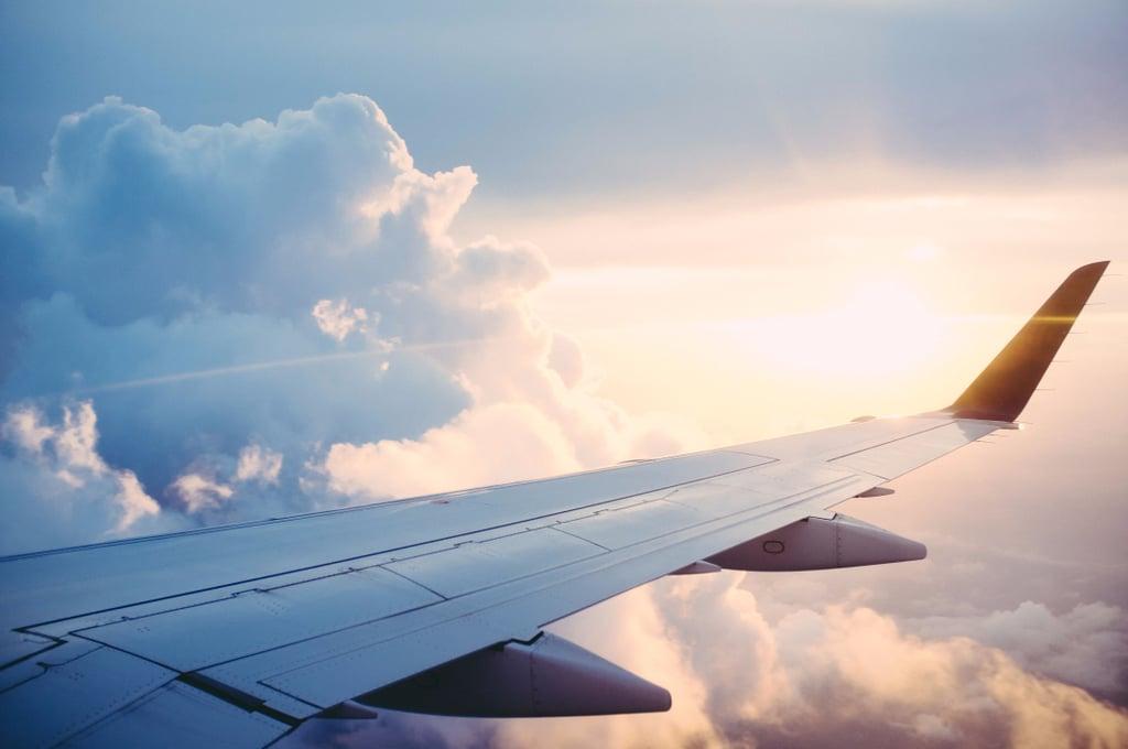 Live Tweeting Elderly Woman's First Flight