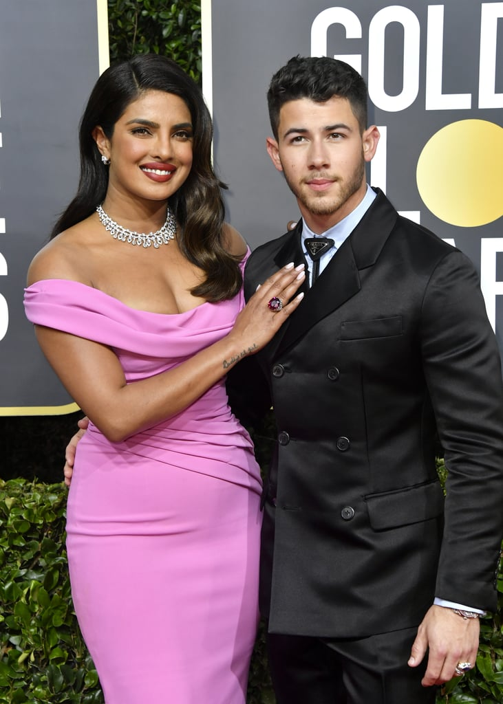 See Priyanka Chopra's Glam Golden Globes Dress