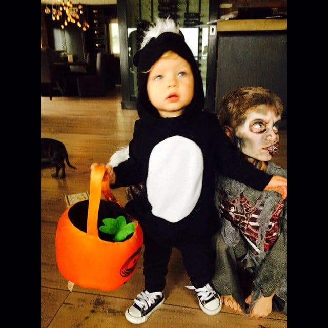Josh Duhamel and Fergie's Son Axl as a Skunk