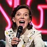 Millie Bobby Brown at the Argentina Comic Con in 2017