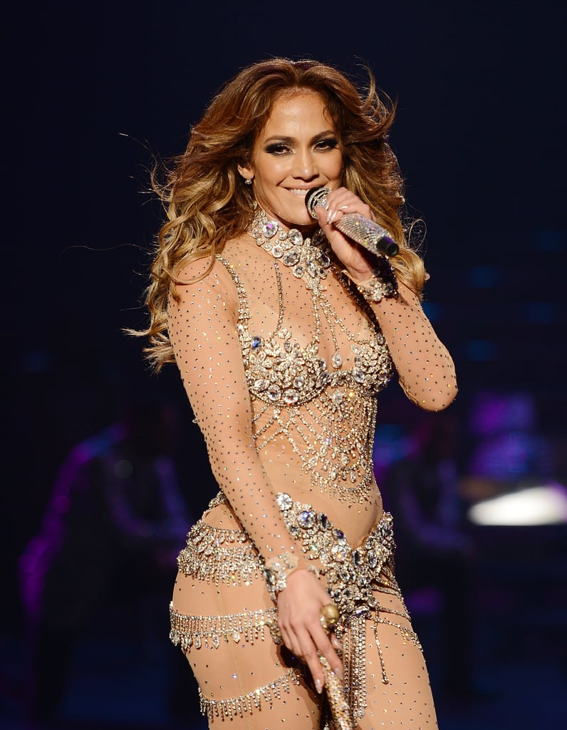 J Lo on Getting Glam For the Vegas Stage
