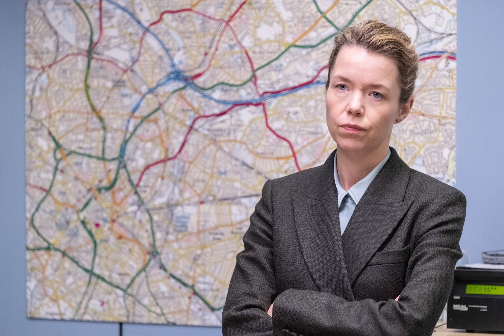 WARNING: Embargoed for publication until 00:00:01 on 30/04/2019 - Programme Name: Line of Duty - Series 5 - TX: n/a - Episode: Line of Duty S5 - Episode 6 (No. 6) - Picture Shows: ***EMBARGOED TILL 00:01 30TH APRIL 2019*** Carmichael (ANNA MAXWELL MARTIN) - (C) World Productions Ltd - Photographer: Aidan Monaghan