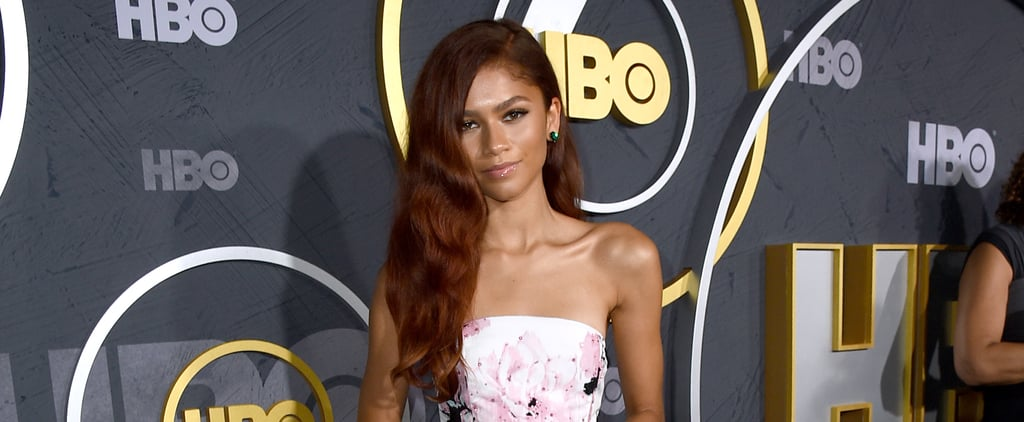 Zendaya wore a floral dress for the 2019 emmys afterparty