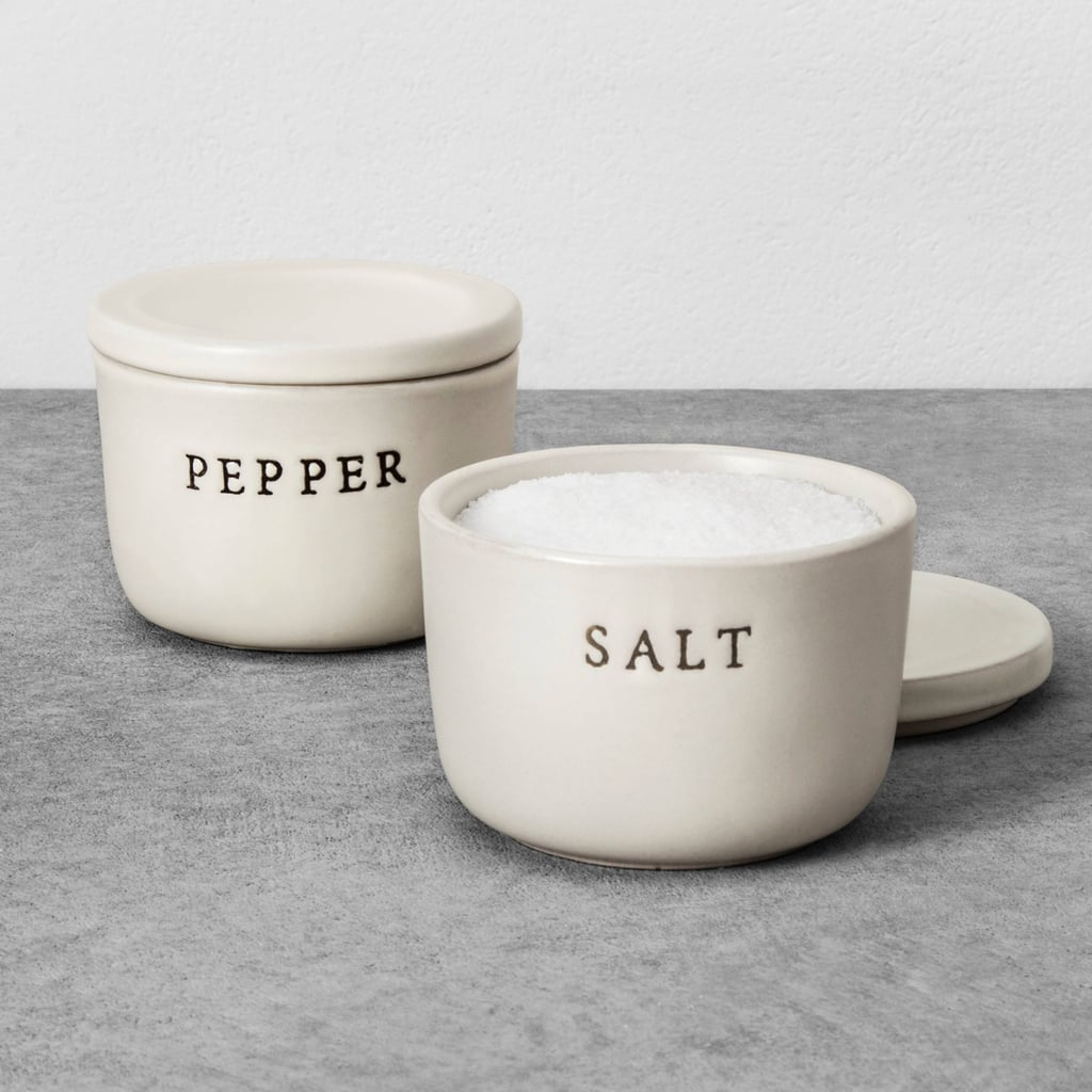 Hearth & Hand With Magnolia Stoneware Salt and Pepper Cellar