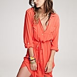 Lily Aldridge For Velvet Jessie Voile Shirt Dress ($189) Source: Courtesy of Velvet