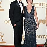 The Office star John Krasinski attended with wife, Emily Blunt.