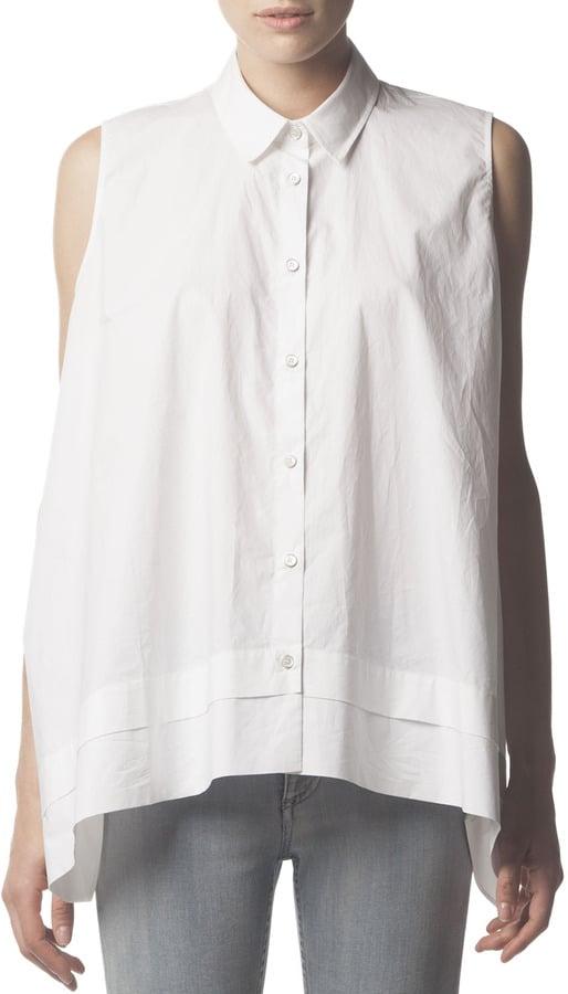 Acne Studios Sleeveless Button-Down Shirt