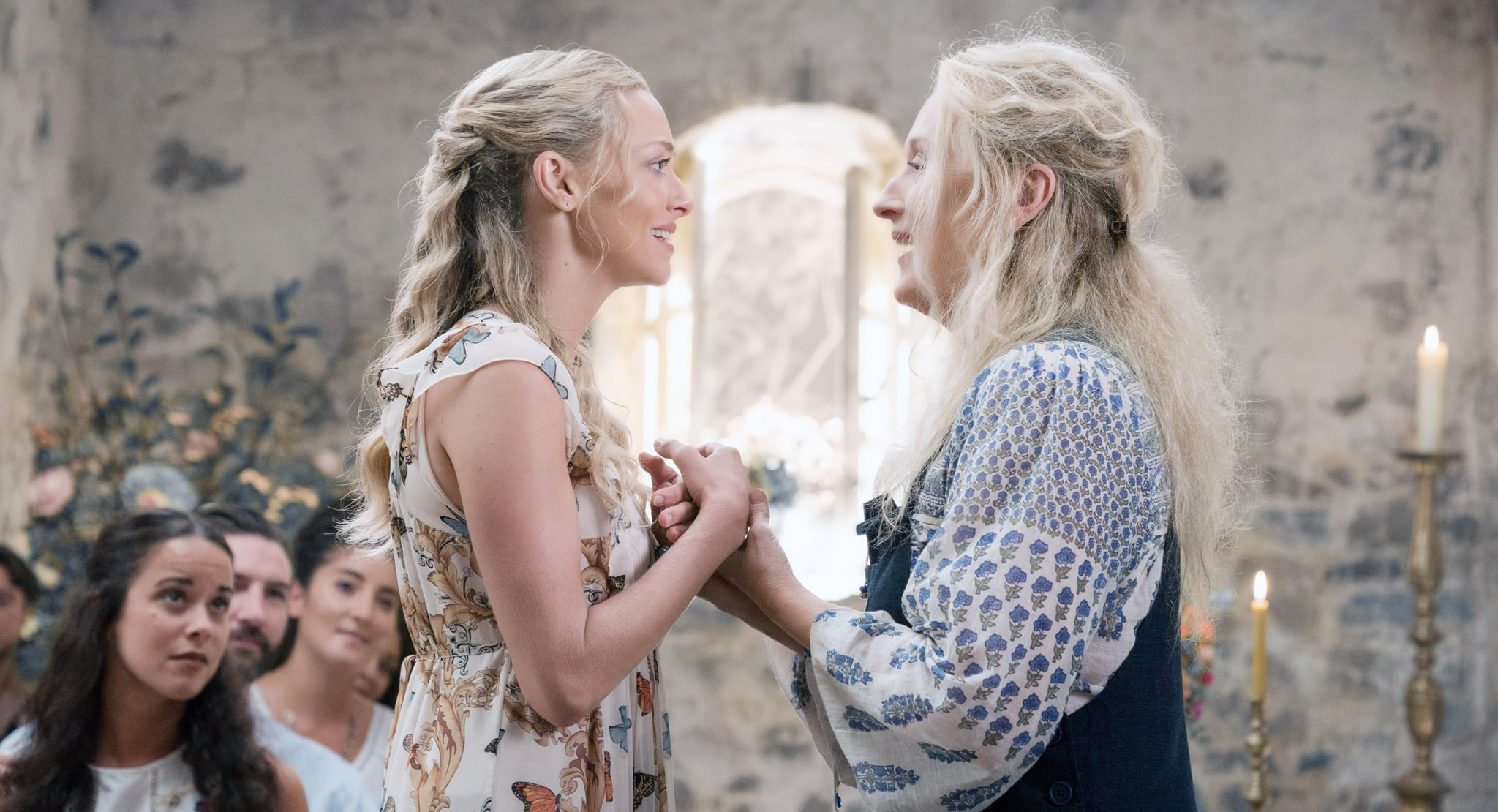 MAMMA MIA! HERE WE GO AGAIN, from left: Amanda Seyfried, Meryl Streep, 2018. ph: Jonathan Prime / Universal Studios /Courtesy Everett Collection