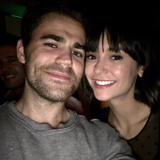 Nina Dobrev and Paul Wesley Instagram Photo December 2017