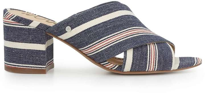 35fcd6f31ba These striped Sam Edelman Stanley Mule Sandals ( 100) feature a block heel.