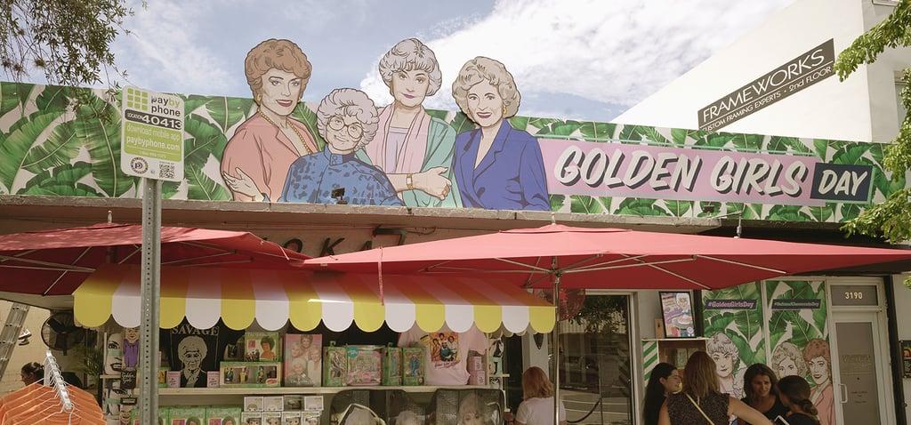 Golden Girls Day Pop-Up in Miami
